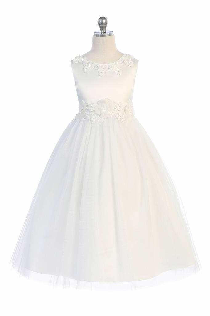 bruidsmeisjes jurk Benthe ivoor