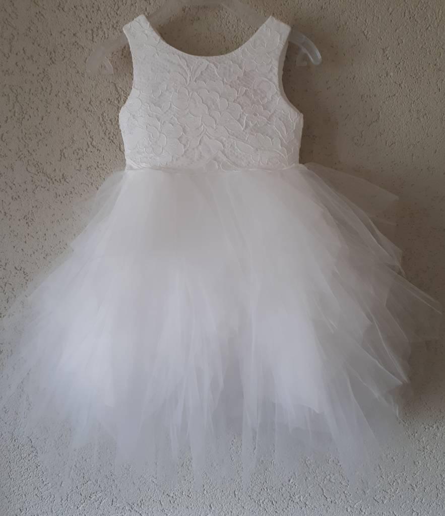 Bruidsmeisjes jurk Fleur ivoor