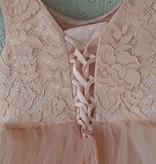 Bruidsmeisjes jurk Feestjurk Fleur peach