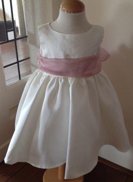 Bruidsmeisjes jurk Else ivoor