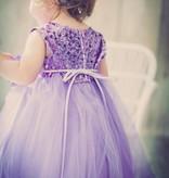 Feestjurk - Bruidsmeisjes jurk Daphne lavendel