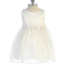 Baby jurk Meike ivoor