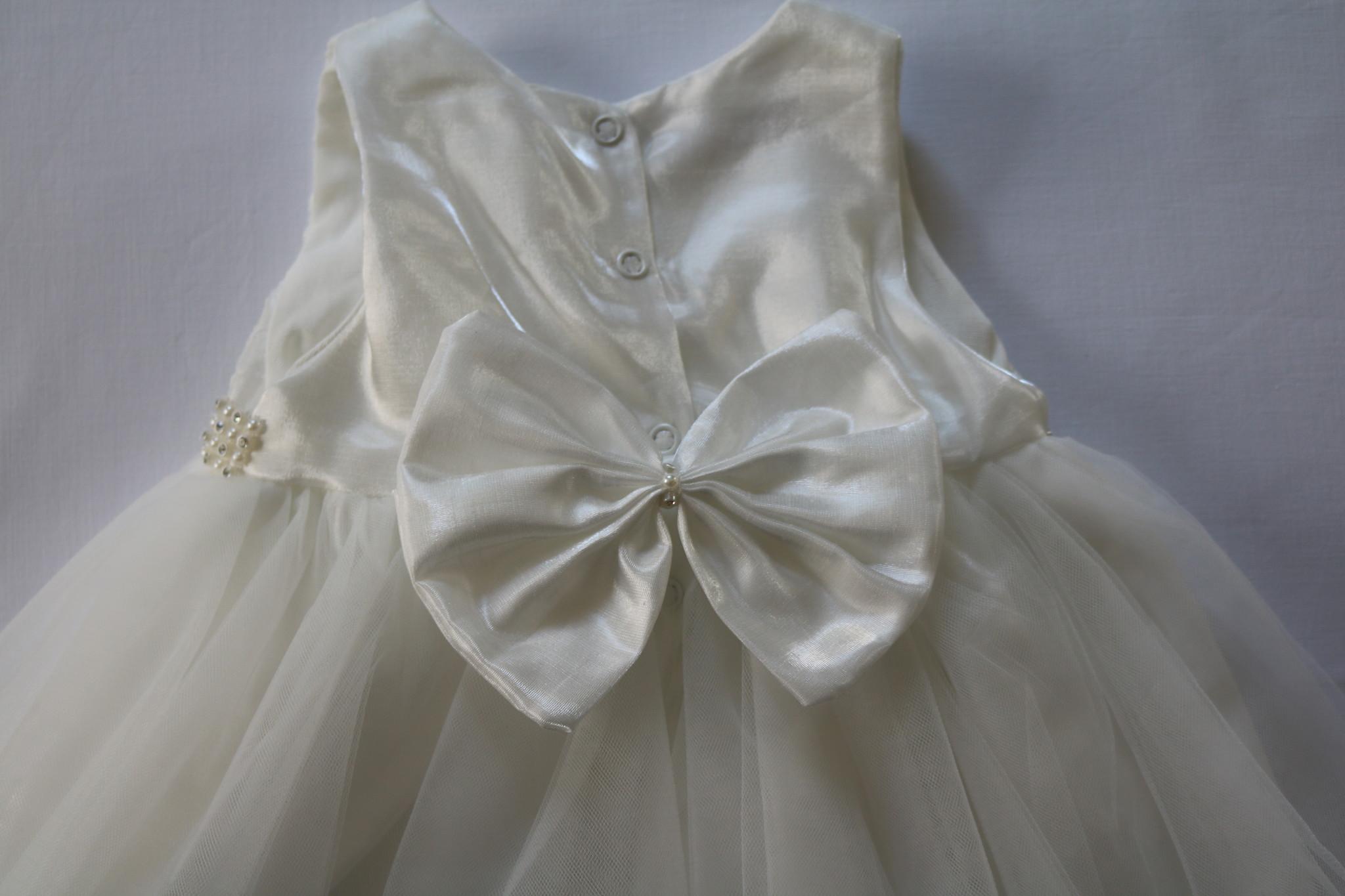 Doopjurk Baby jurk Emilia ivoor