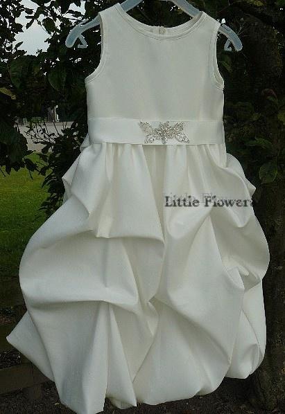 Lilly Bruidsmeisjes jurk Noor ivoor