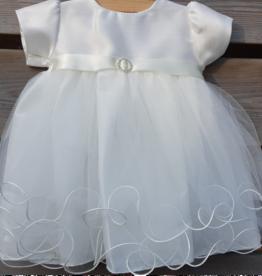 Baby jurkje Babette ivoor