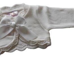 Baby vestje Vera wit