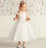 Bruidsmeisjes jurk Amelie ivoor