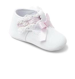 Babyschoentje Valencia wit