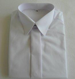 Overhemd wit met korte mouw
