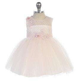 Baby jurk Selah blush