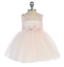 Baby jurk Selah roze