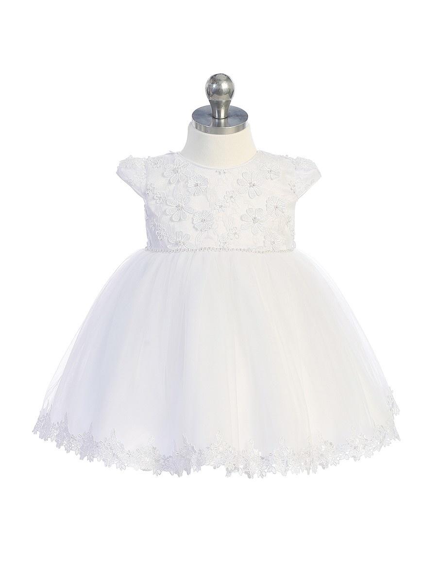 Doopjurk baby jurk Mylene wit