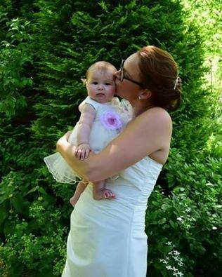 Bruidsmeisjes jurk Denise ivoor