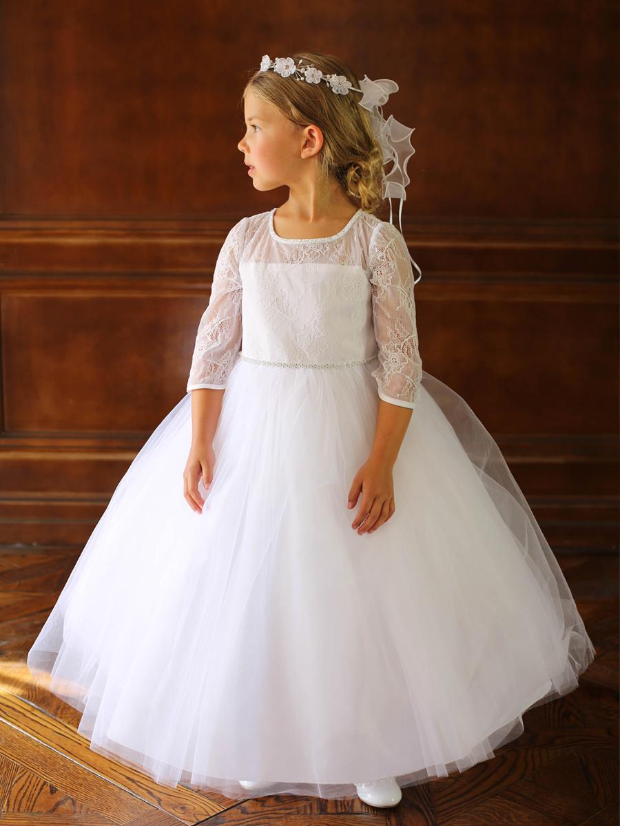 Bruidsmeisjes jurk Sharon ivoor