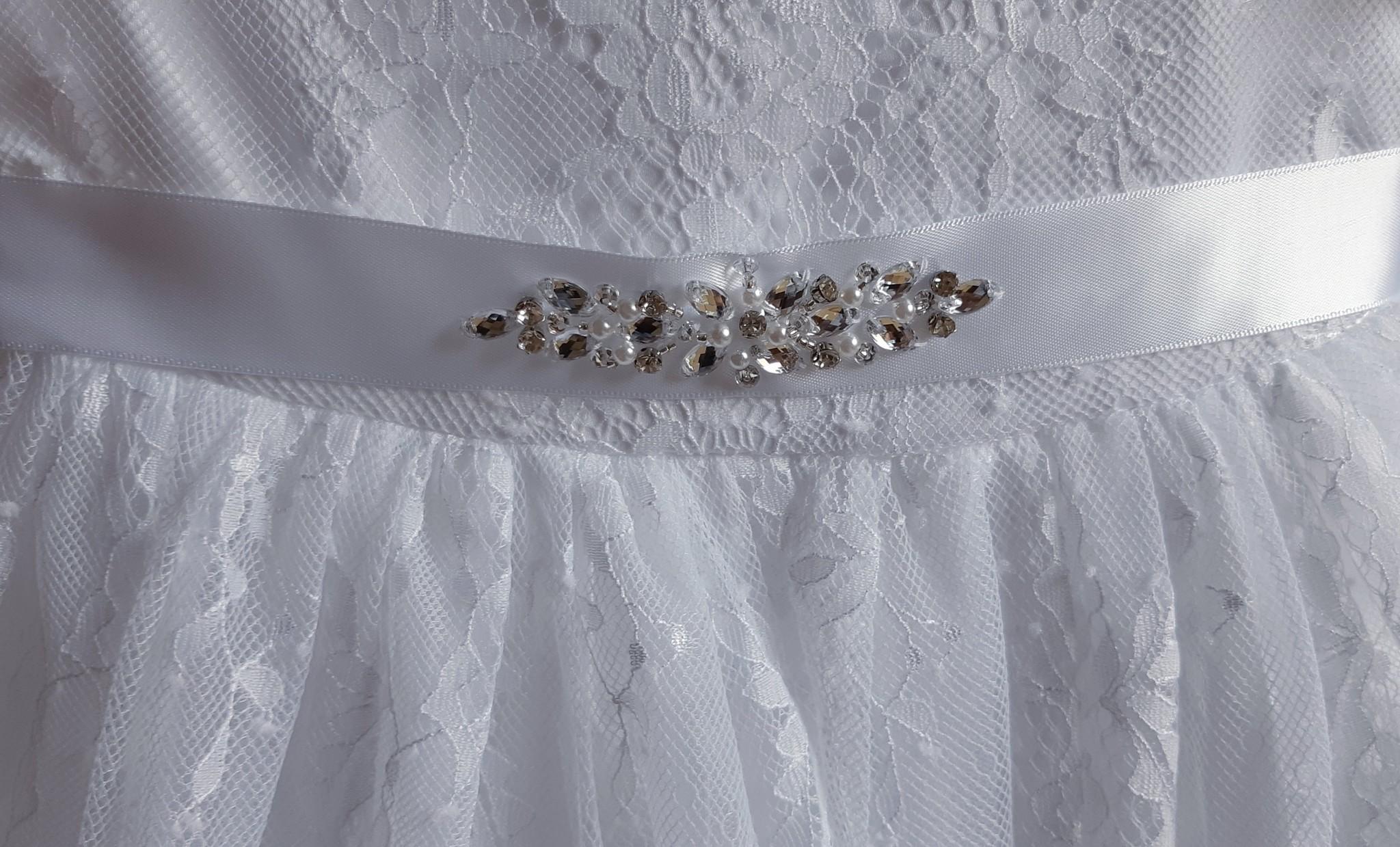 Doopjurk baby jurk  Julita wit