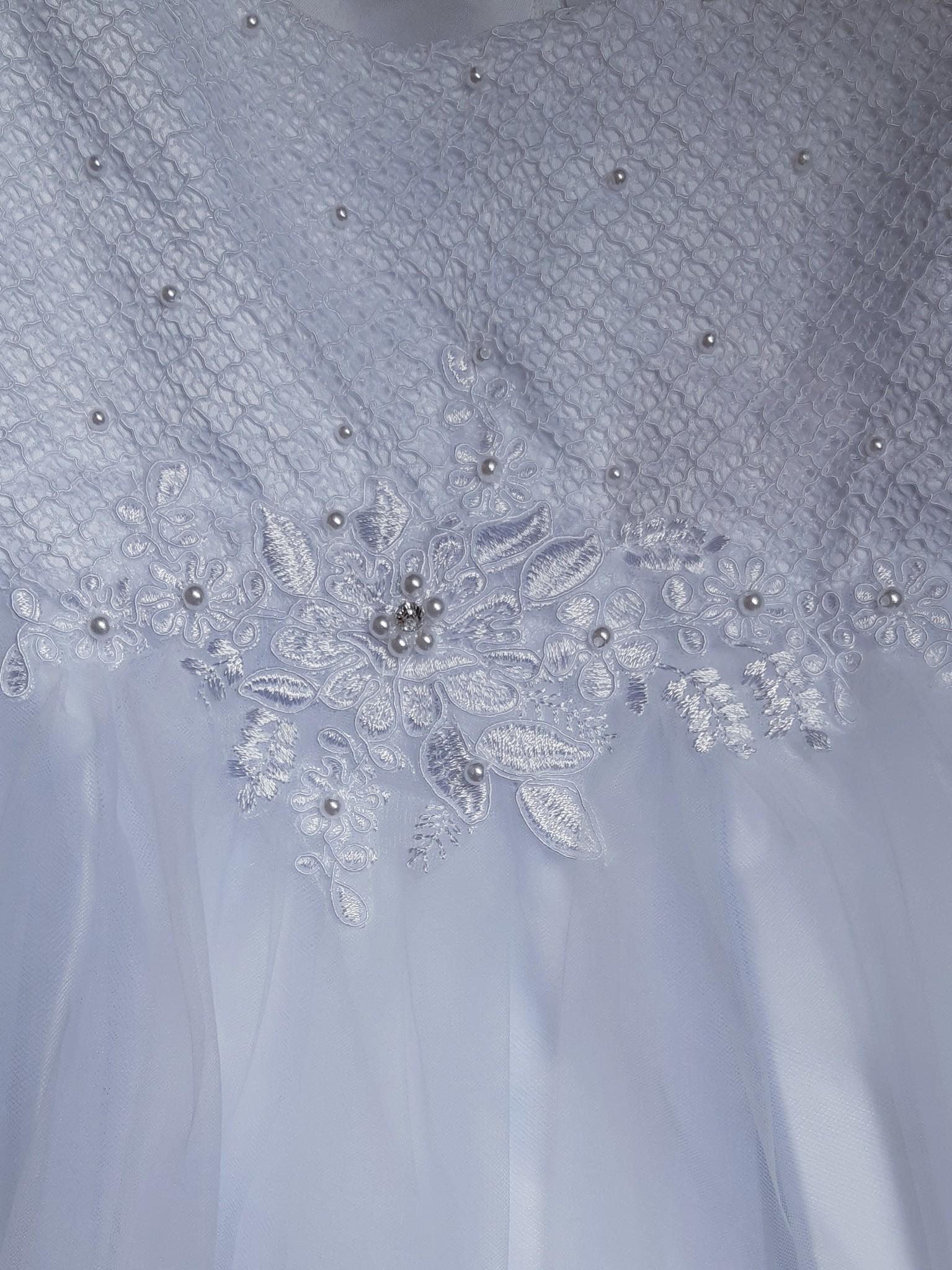 Baby jurk doopjurk Amara wit