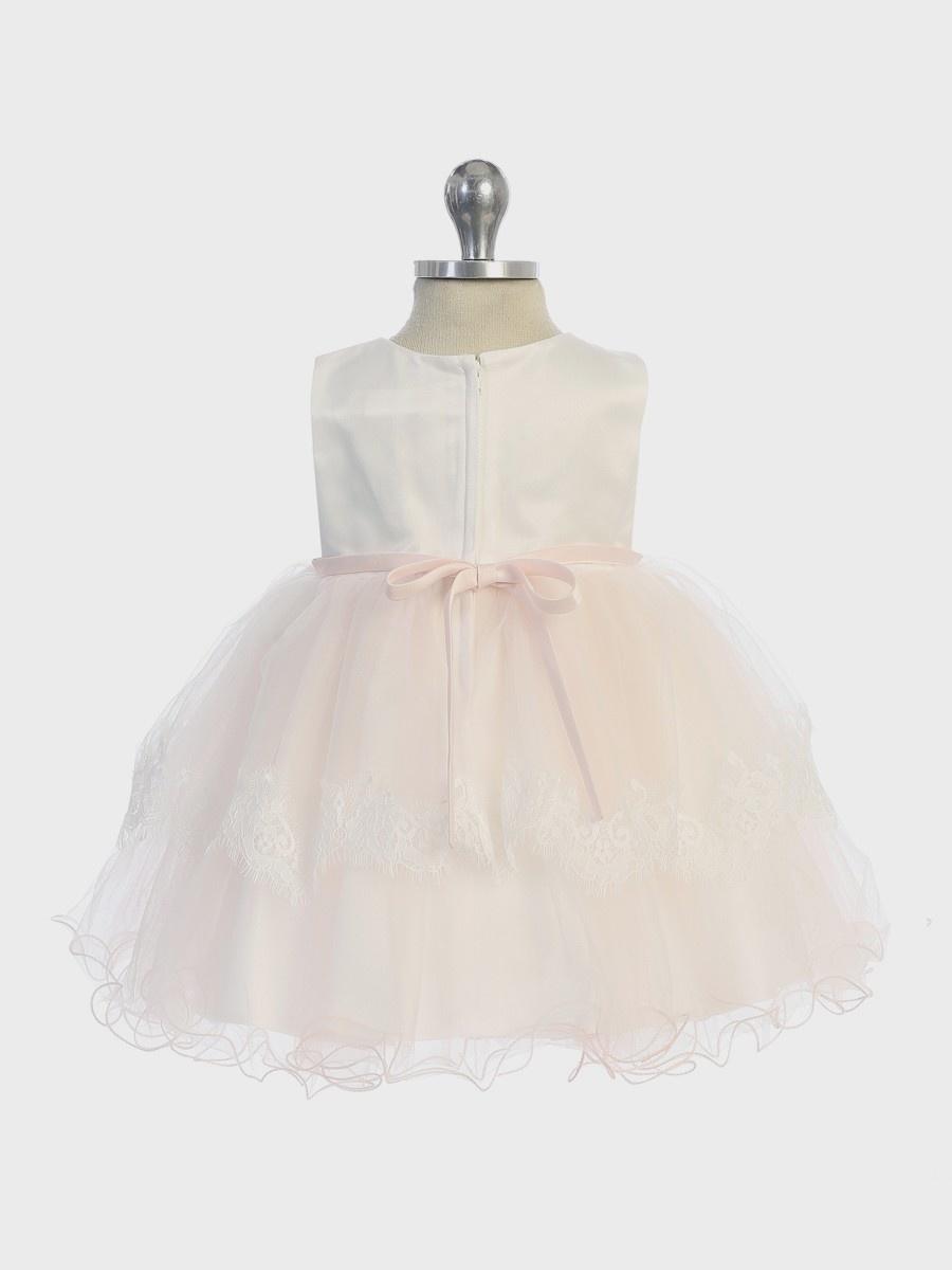 Baby jurk Liecke blush