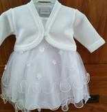 Baby jurk Stella wit