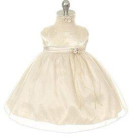 Baby jurk Marlize champagne