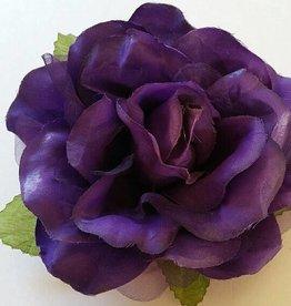 Satijnen roos paars