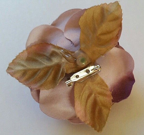Satijnen roos lila