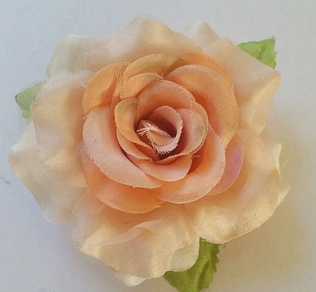 Satijnen roos zalm