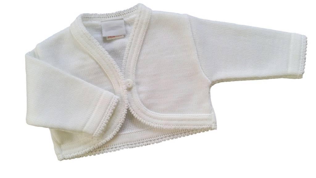 Baby vestje wit