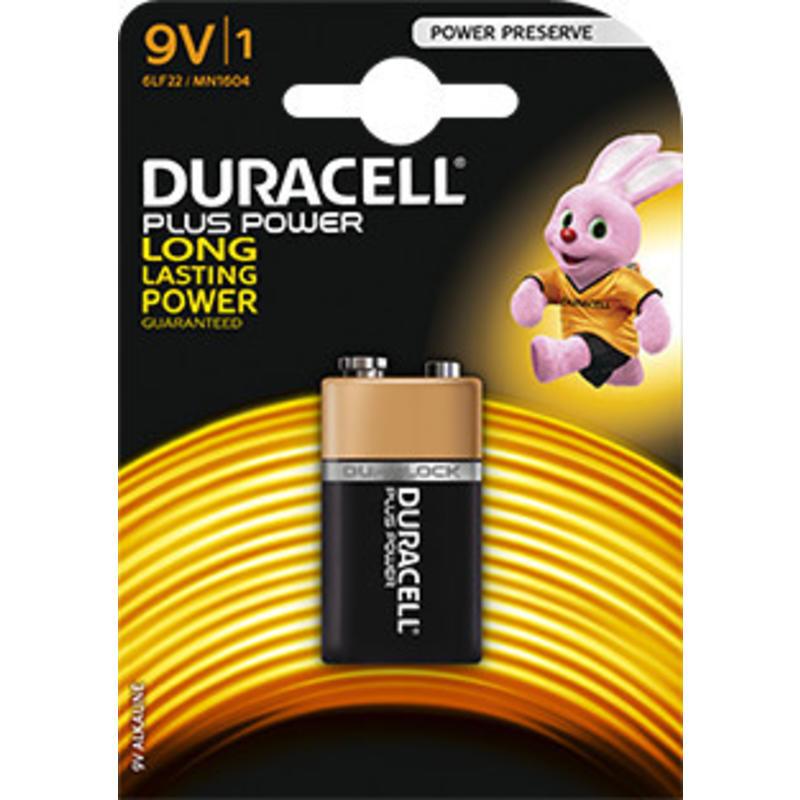 Duracell Batterij 9 volt (blokje)