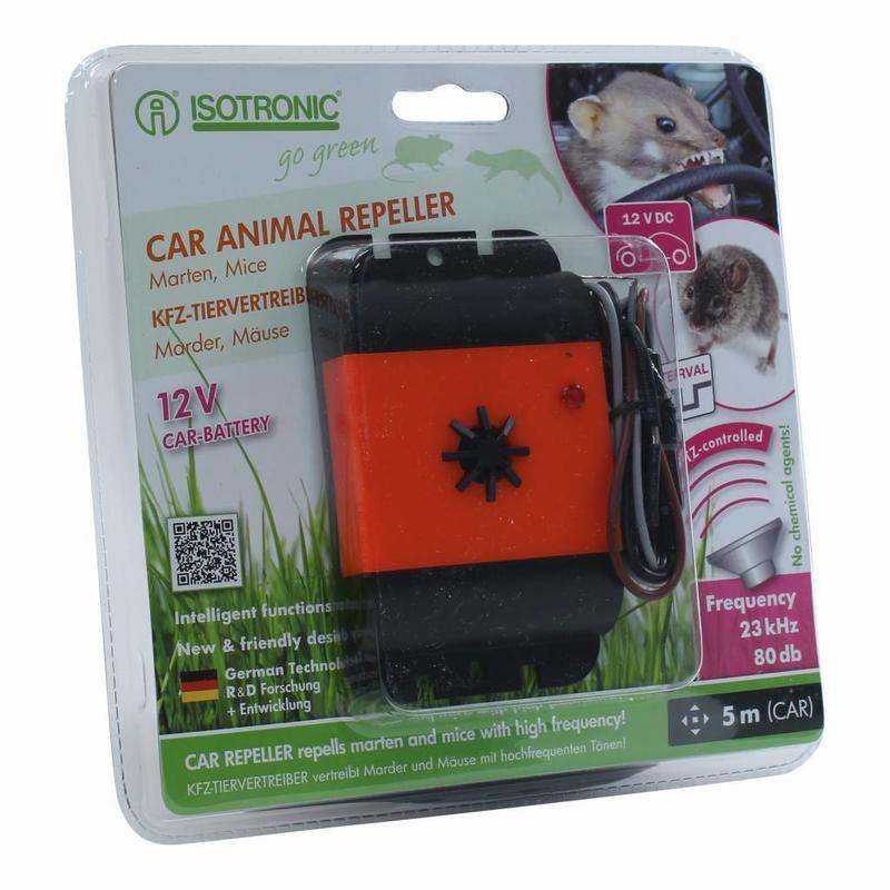 Isotronic marter- en muizenverjager voor auto