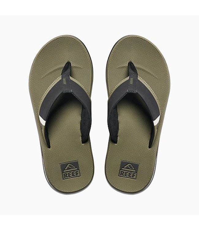 Reef Fanning Low Olive