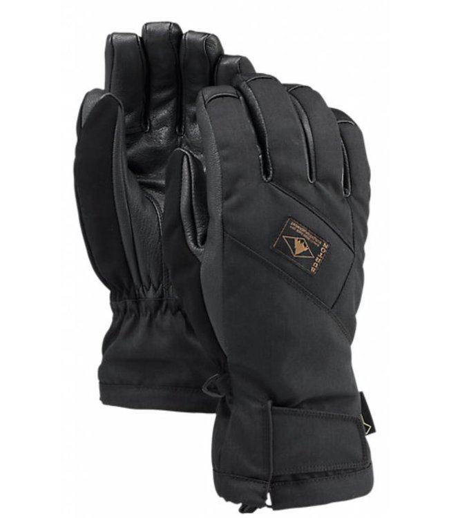 Burton Gore Leather Glove Zwart