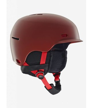 Anon Highwire Helmet Red