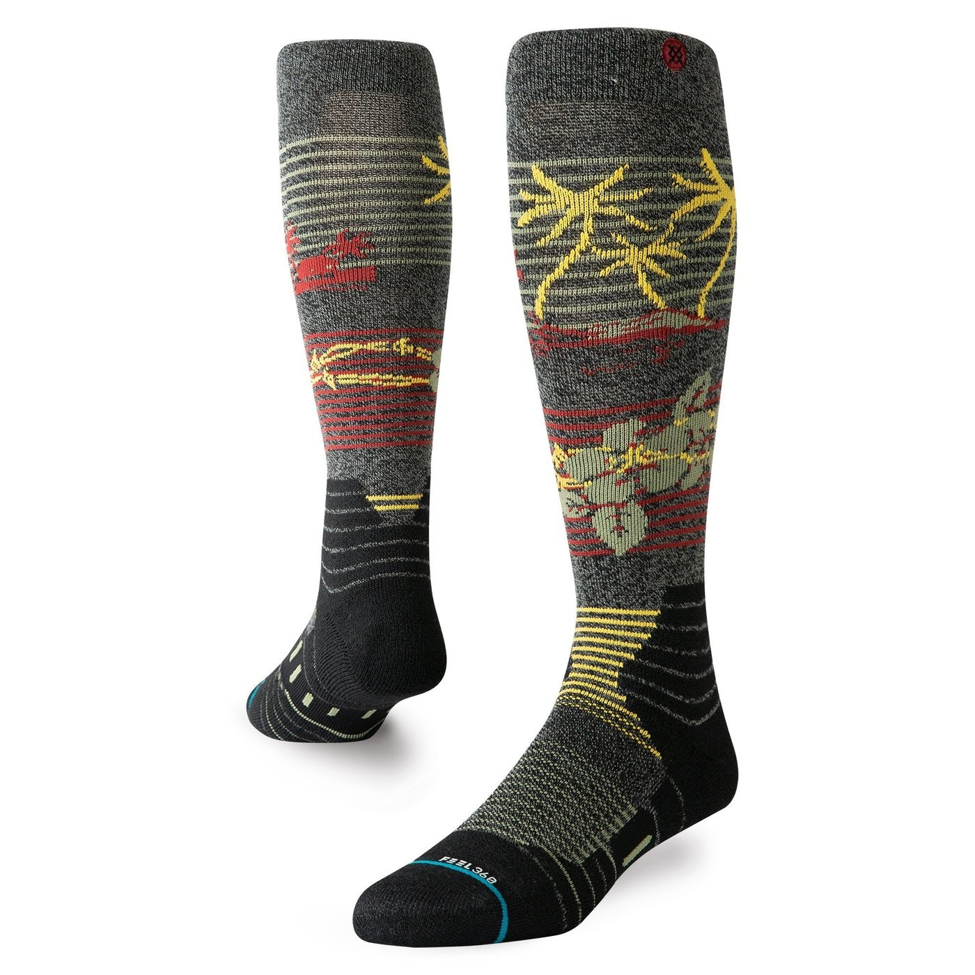 Stance Snow Safety Wire Black (Man) Mix Color