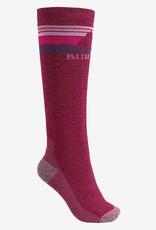 Burton W Emblem MDWT Sock Sangria