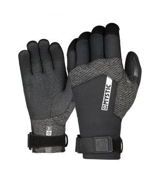 Mystic Marshall Glove 3mm 5Finger Precurved - Black