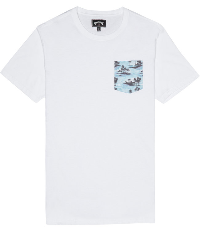 Billabong All Day Printed Crew White