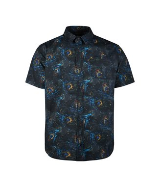 Mystic Party Shirt Black Allover