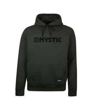 Mystic Brand Hood Sweat Brave Green Green