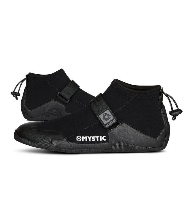 Mystic Star Shoe 3mm Round Toe - Black