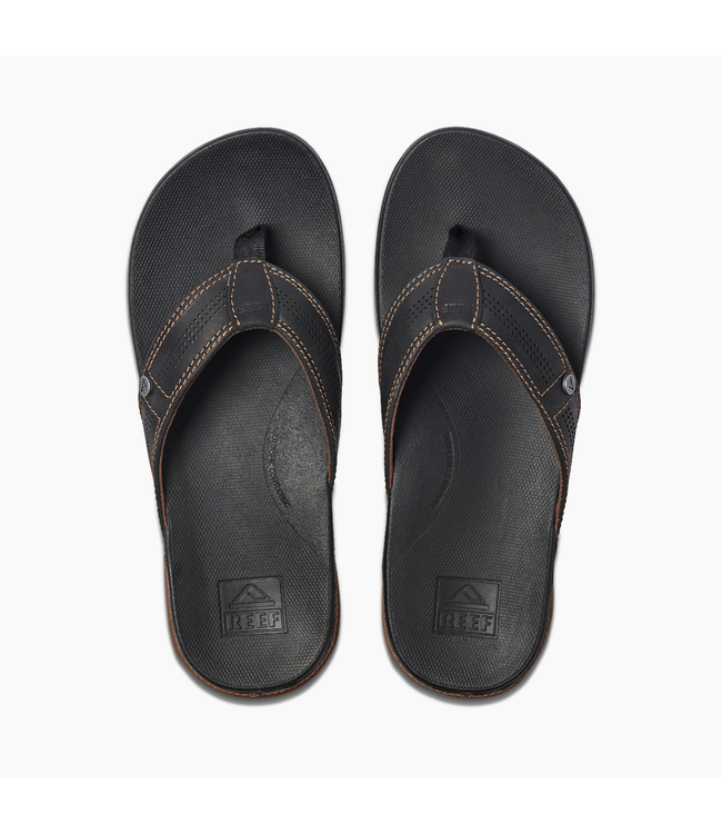 Reef Cushion Bounce Lux Black/Brown