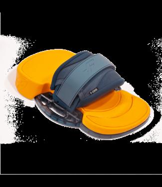 F - One Platinium 3 Bindings Slate/Mango