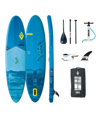 AQUATONE Wave Plus 11'0. Allround SUP Blau