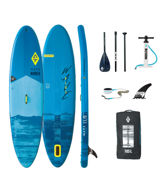 AQUATONE Wave Plus 11'0. Allround SUP Blue