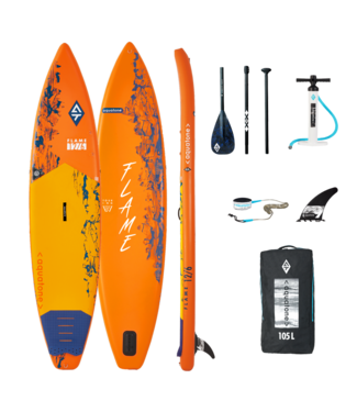 AQUATONE Flame 12.6. Touring SUP Orange