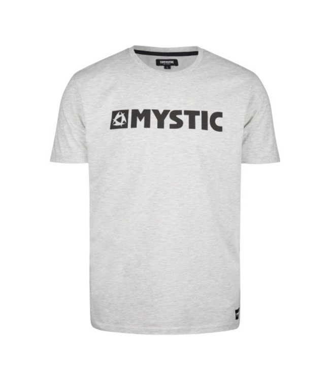 Mystic Brand Tee - December Sky M Gray