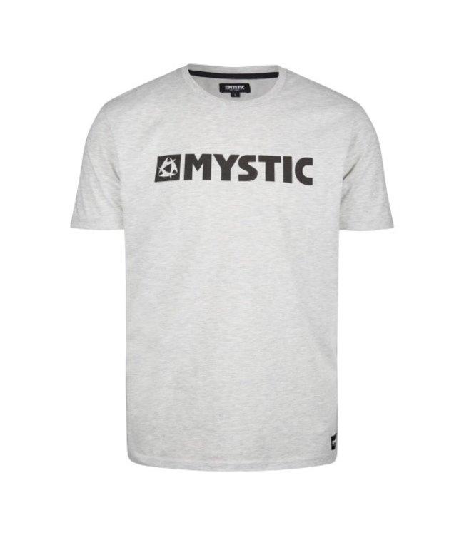 Mystic Brand Tee - Dezember Himmel M Grau