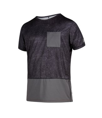 Mystic Shred S / S Quickdry Phantom Gray