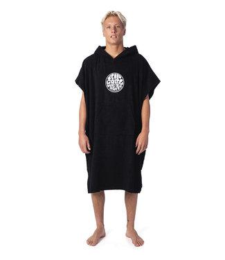 Rip Curl Wet As Hooded Towel - Black