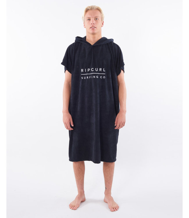Rip Curl Mix Up Hooded Towel  - Black