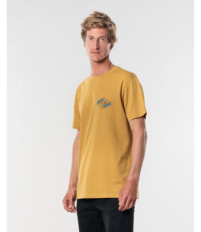 Rip Curl D'ams S/S Tee - Mustard